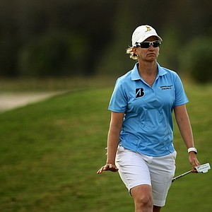 Karrie Webb placed fourth during the final round of the CME Group Titleholders at Twin Eagles Club.