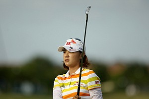 Na Yeon Choi winner of the final event, the CME Group Titleholders at Twin Eagles Club.