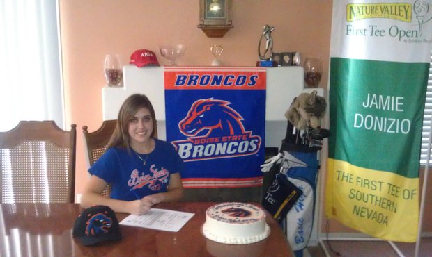 Jamie Donizio signs with Boise State