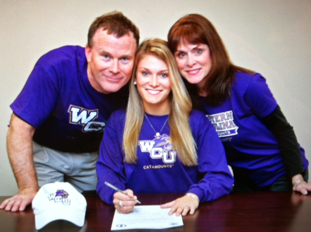 Bethany Galloway signs with Western Carolina
