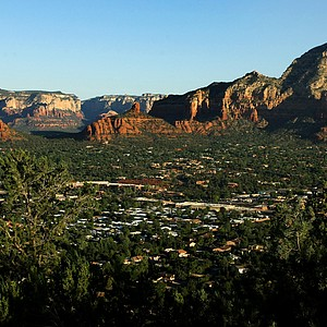 One of the views from Airport Mesa in Sedona, AZ.