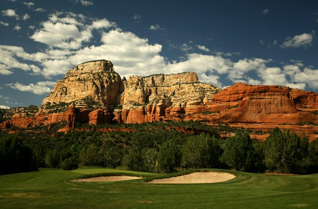 Hole No. 3 at Seven Canyons in Sedona, AZ.