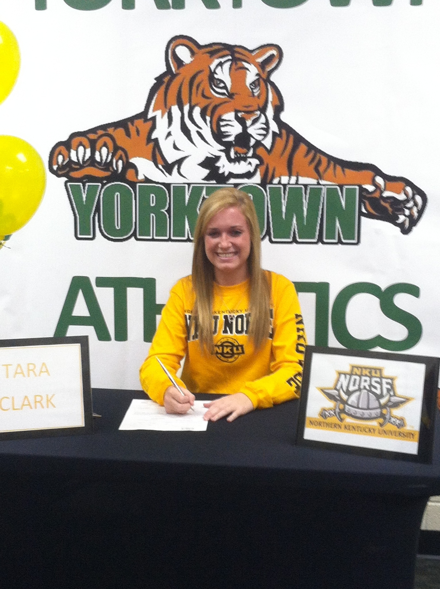 Tara Clark signs with Northern Kentucky