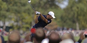 Dustin Johnson: 2012 in Pictures