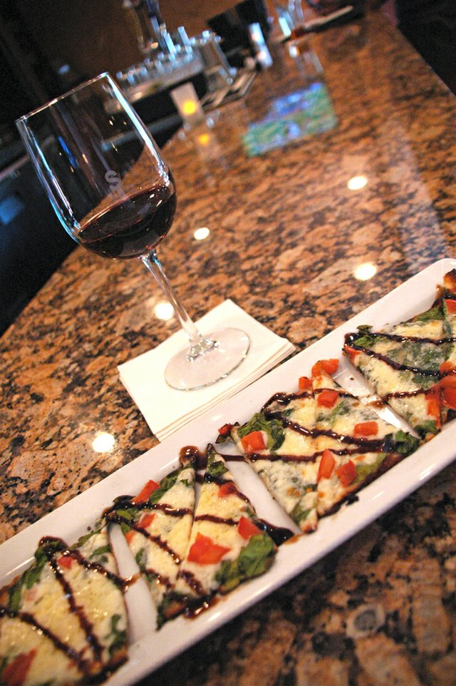 SoNapa Grille in Maitland offers an impressive and expansive variety of wines and flatbreads.