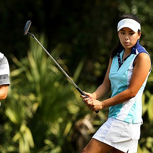 Former UCLA Bruin Brianna Do on Tuesday of LPGA Q-School at LPGA International.