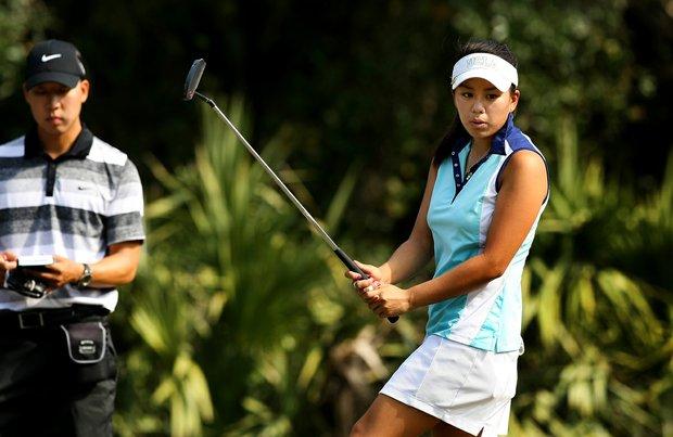 Former UCLA Bruin Brianna Do on Tuesday of LPGA Q-School at LPGA International.