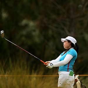Moriya Jutanugarn has a six shot lead after Friday of LPGA Q-School.