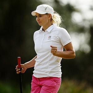Marita Engzelius of Norway during Friday of LPGA Q-School.