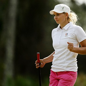 Marita Engzelius of Norway during Friday of LPGA Q-School.