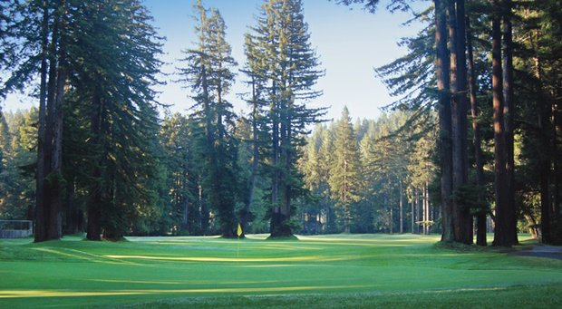 Northwood Golf Club, a historic nine-hole layout in Sonoma County, roughly 90 minutes north of San Francisco.