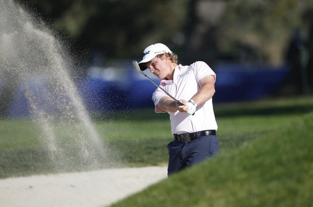 Bud Cauley during the second round of the Farmers Insurance Open golf tournament, Friday, Jan. 27, 2012, in San Diego.