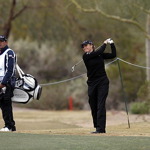 Cristie Kerr is seen during the Founders Cup golf tournament Sunday, March 18, 2012, in Phoenix.