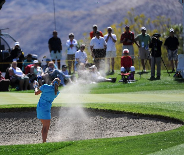 April 1, 2012: Lexi Thompson during the final round of the Kraft Nabisco Championship at Mission Hills Country Club in Rancho Mirage, California