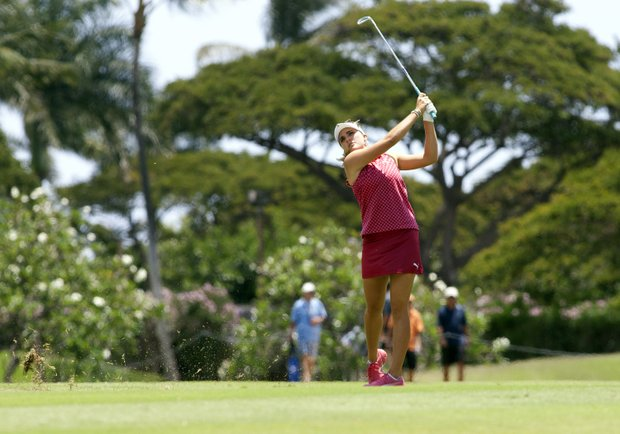 April 19, 2012: Lexi Thompson in action during the second round of the LPGA LOTTE Championship at Ko Olina Golf Club in Kapolei, Hawai'i