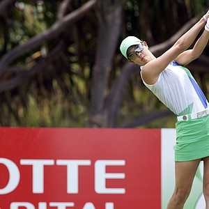 April 19, 2012: Michelle Wie in action during the second round of the LPGA LOTTE Championship at Ko Olina Golf Club in Kapolei, Hawai'i.