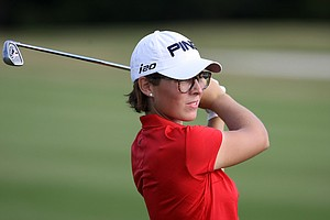 Marina Stuetz of Austria turned pro after earning her card during the final round of LPGA Q-School.