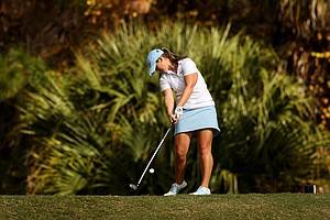 Lacy Agnew during the final round of LPGA Q-School.
