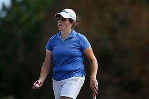 Lauren Doughtie earned her card in a playoff during the final round of LPGA Q-School.