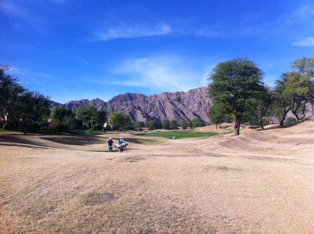 The third fairway at PGA West's Stadium Course in La Quinta, Calif.