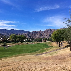 The third fairway at PGA West's Stadium Course in La Quinta, Calif.