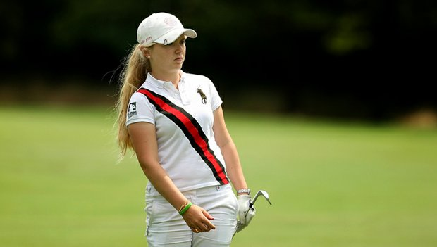 Bronte Law advanced to the second round of match play at the 2012 U.S. Women's Amateur.
