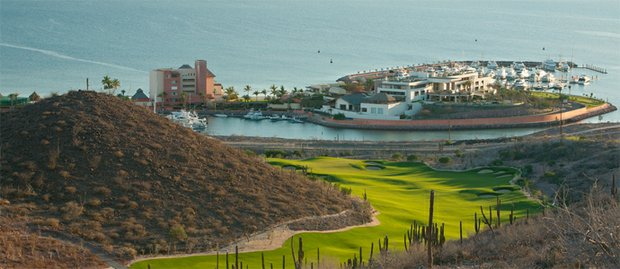 The 14th hole at Costa Baja.