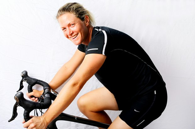 Suzann Pettersen has been an avid snow skier but has recently taken up cycling.