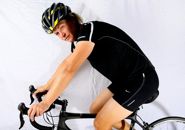 Suzann Pettersen has taken up cycling as an off course hobby.