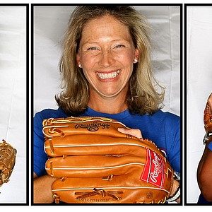 Angela Stanford as an off course love of the Texas Rangers.