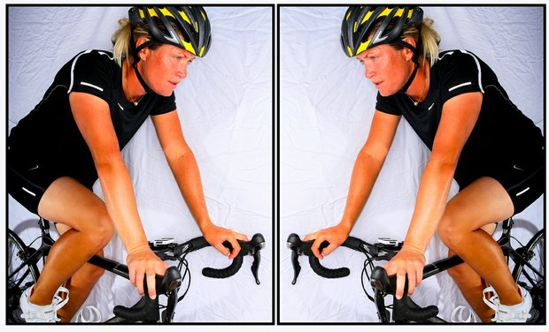 Suzann Pettersen, a true athlete, has added cycling as one of her off course hobbies.