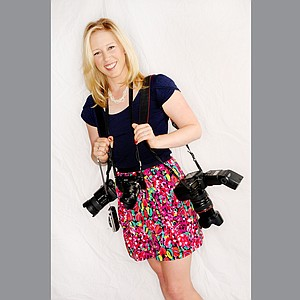 Morgan Pressel has a impressive collection of cameras, some of which she travels on tour with.