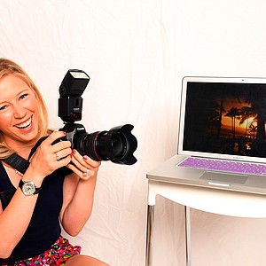 Morgan Pressel has used her hobby of photography to make photo books of her travels.