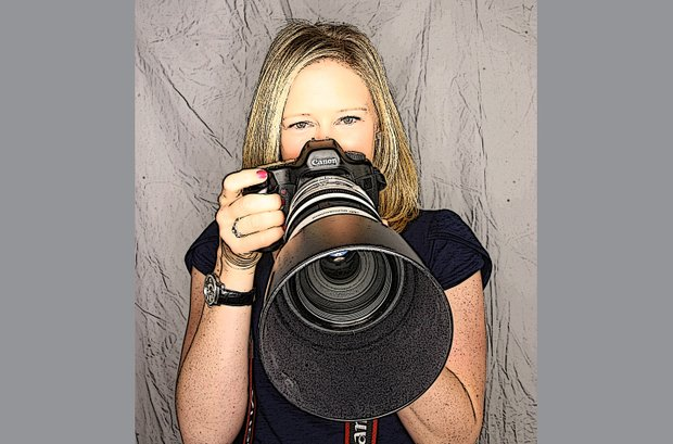 Morgan Pressel chose Canon camera gear as one of her off course hobbies.