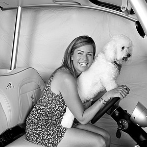 Paula Creamer and Studley.