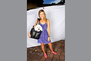 Paula Creamer and Studley. Studley even travels to tournaments with Paula occasionally.