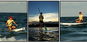 Stacy Lewis' new hobby: Paddleboarding