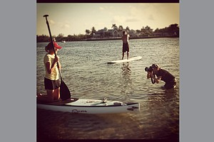 Stacy Lewis during a recent shoot with Golfweek photographer Tracy Wilcox in Juptier, Fla.