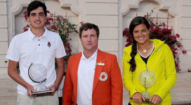 England's Patrick Kelley and Puerto Rico's Maria Torres won the 2012 Junior Orange Bowl International Golf Championship on Dec. 30.