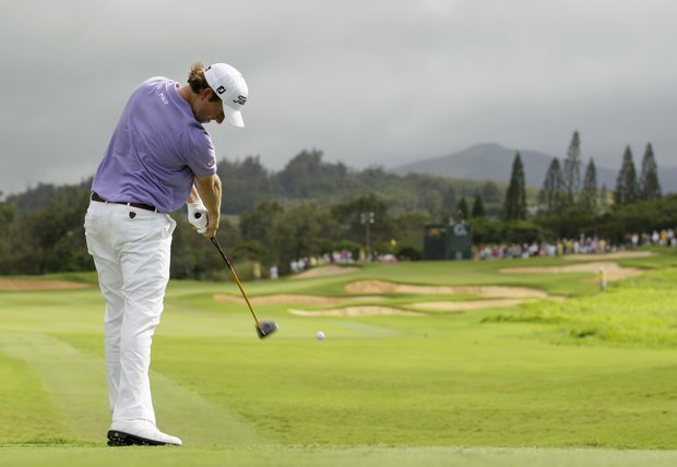 Webb Simpson is one of a handful of top-tier players who made the trip to Kapalua this week for the Hyundai Tournament of Champions.