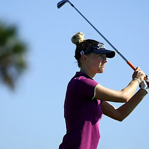 Carlie Yadloczky at the 87th South Atlantic Amateur at Oceanside Country Club.
