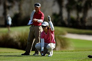 Yueer Cindy Feng at the 87th South Atlantic Amateur at Oceanside Country Club.