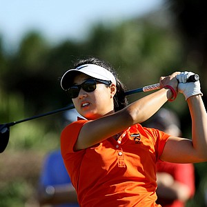 Kelly Shon at the the 87th South Atlantic Amateur at Oceanside Country Club.