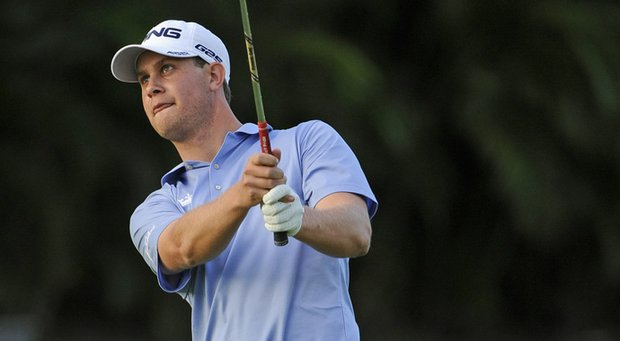 Harris English fired an 8-under 62 on Saturday, but is still seven strokes off the lead at the Sony Open.