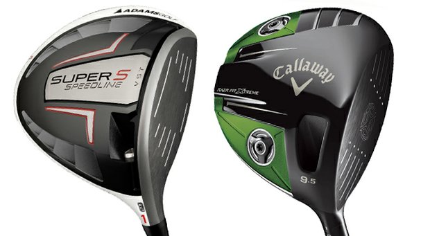 The Adams Super S and Callaway Razr Fit Xtreme.