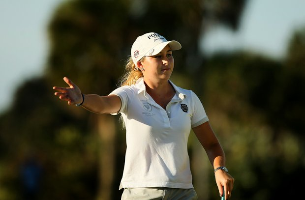 Shannon Aubert is coming of a second-place finish at the South Atlantic Amateur.