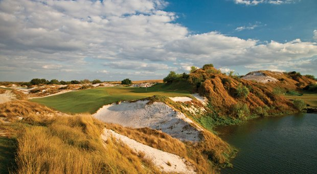 The 16th hole on Streamsong's Red course.