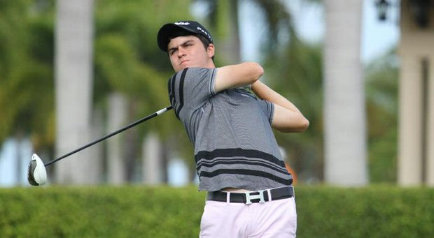 Jorge Garcia shot a second round 71 on Sunday to take a seven shot lead into the final round of the Puerto Rico Junior Open.
