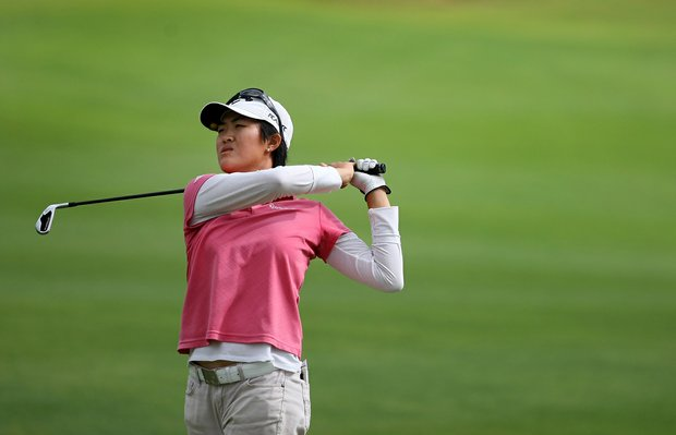 Cindy Feng during the Annika Invitational at Reunion Resort.