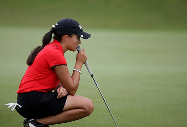 Nicole Morales during the Annika Invitational at Reunion Resort.